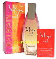 Balmya De Balmain By Balmain 3.3/3.4oz. Edt Spray For Women New In Box