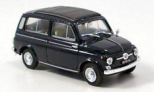 BRUMM 1:43 Fiat 500 Giardiniera Chiusa 1960 Blu Scuro R425 06 $