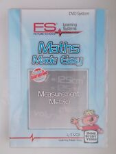 DVD FS Learning Systems-Maths Made Easy-Measurement(metric)-L1V3 [NEW]