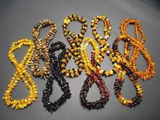 Lot-16 Real Baltic Amber Baby Necklaces Mixed Color 32-33cm