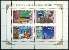 Turkey 1990 SG#MS3103 Posts & Telecommunications MNH M/S Sheet #D40876
