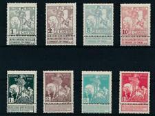 BELGIUM, SC B1-8. 1910 Charity issue. Mint Hinged, OG. CV $24