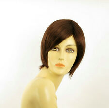 short wig for women dark brown copper REF CECILIA 31 PERUK