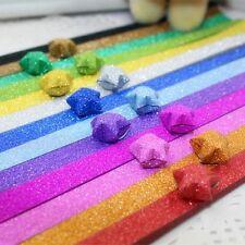 Star Shape Lucky Stars Handcraft Scrip Craft Origami Material Decor Star Paper
