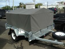 BOX TRAILER WITH CANVAS COVER... READY TO GO CAMPING ! 7X5