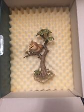 "Disney WDCC Bambi - Friend Owl ""What's Going On Around Here?"" Original Box"