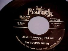 BLACK SPIRITUAL FUNK/SOUL - The Loving Sisters - Jesus Is Enough For Me-PROMO