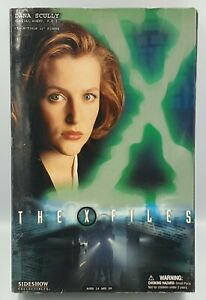 """THE X-FILES : DANA SCULLY 11"""" ACTION FIGURE MADE BY SIDESHOW IN 2004 (JZ)"""