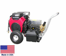 Pressure Washer Commercial Portable 5 Gpm 4000 Psi Cat Pump 20 Hp Honda