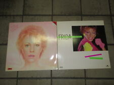 "2x Frida -Shine / Something's Going On-  LP 12"" mit orig. Innenhülle + Text"