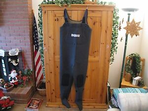 HODGMAN neoprene chest waders, size MS, style 13547, Philippines, light use