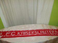 "100 /% Acryl neu Kaiserslautern Schal /""TRADITION/""  Ultra Pfalz Fan Teufel"