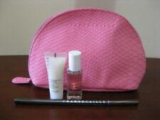 Chantecaille ~ 3 Pc. Gift Set & Pink Makeup Bag