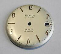 Pezzo Orologio Quadrante Telaio Grigio Diametro 28.55 MM Cal. AS 1701