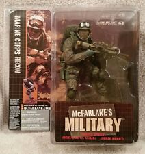 McFarlane's Military: MARINE CORPS RECON 2005 Debut Series (African American)