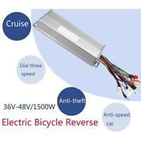 36-48V 1500W Electric Bicycle E-bike Brushless Motor Speed Controller Reverse