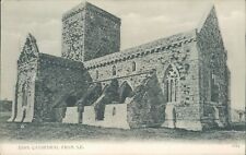 Iona cathedral from SE 1907 valentine