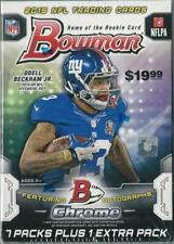 2015 Bowman Football Trading Cards Blaster Box5