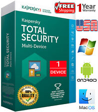 KASPERSKY TOTAL Security 2020/ 1 Device / 1 Year / Regions- US / Download 7.84$