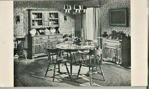 ad postcard: Baumritter tables