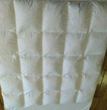 Pacific Coast King Duck Feather Bed 76x80 Mattress Top Baffle Box Luxe Loft Xc