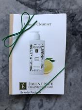 New listing Eminence Lemon Cleanser 0.10oz (6 Sample Cards)