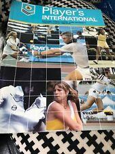 Player's International Tennis Program 1980 Toronto Borg Cover Lendl Everett Win!