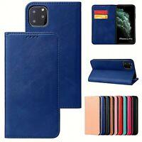 Housse pour iPhone - Etui folio avec clapet magnétique rabattable et porte-carte