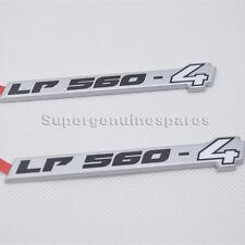 2X Genuine Lamborghini Gallardo sidehead the LP560-4 Badge Emblem 400854499B New