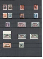 Memel, Litauen, Klaipeda 1920-21, Einzelmarken aus MiNrn: 1 - 97 **, postfrisch