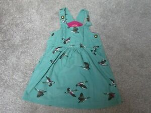 Joules girls 12-18 months goose geese cord pinafore dress - Very good condition
