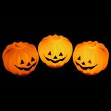 LED pumpkin Night Light Decor Halloween ball Festival Party Mini Gift Practical