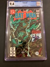 Batman 🔥 #357 CGC 9.4 1st Killer Croc & Jason Todd 🗝! DC Comics!