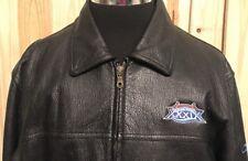 Leather Jacket NFL Super Bowl XXXIX New England Patriots vs.Philadelphia Eagles