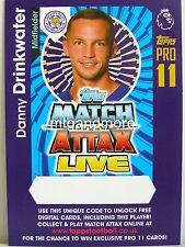 Match Attax 2016/17 Premier League - Danny Drinkwater - Online Code