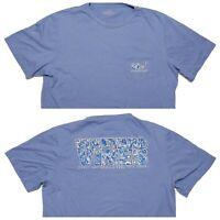 VINEYARD VINES Short Sleeve Pocket T-Shirt Every Day Feel Good Blue Large L