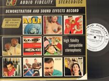 Demonstration & and Sound Effects Record AUDIO FIDELITY 1959 LP U.K.