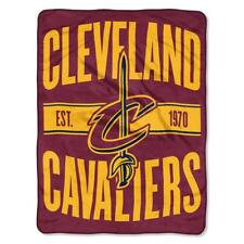 Cleveland Cavaliers 46x60 Micro Blanket - Clear Out Design [NEW] NBA Throw