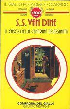 S.S. Van Dine - Il caso della canarina assassinata