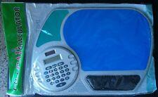 Calculadora con alfombrilla ratón y soporte para la muñeca
