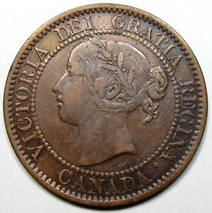 1858 Canada Large Cent, Key Date