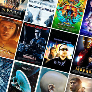 Sci-fi Movie Prints - Classic Posters - A4 A3 A2 - Wall Art - Home Decor - Gift