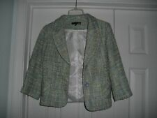 LADIES DALIA LIGHTWEIGHT LINED JACKET SIZE 8