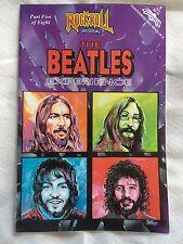 rock & roll BEATLES COMIC BOOK #5