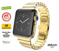 phelx Edelstahl Armband für Apple Watch 42mm & 44mm - Gold