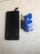 LCD negro para iPhone 6S Plus Pantalla Digitalizador Táctil Cámara de botón de inicio reemplazar