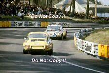 Bjorn Waldegard PORSCHE 911 S LE MANS 1971 FOTOGRAFIA