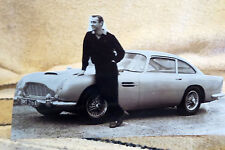 James Bond 007 Sean Connery Aston Martin DB5 Figure Tabletop Display Standee 10""