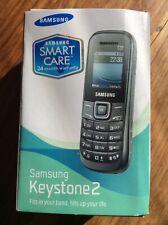 Samsung Keystone 2 (E1205Y) - Black (Unlocked) Mobile Phone * FREEPOST *