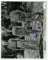Dorothy Lamour JSA Coa Hand Signed 8x10 Typhoon Photo Autograph